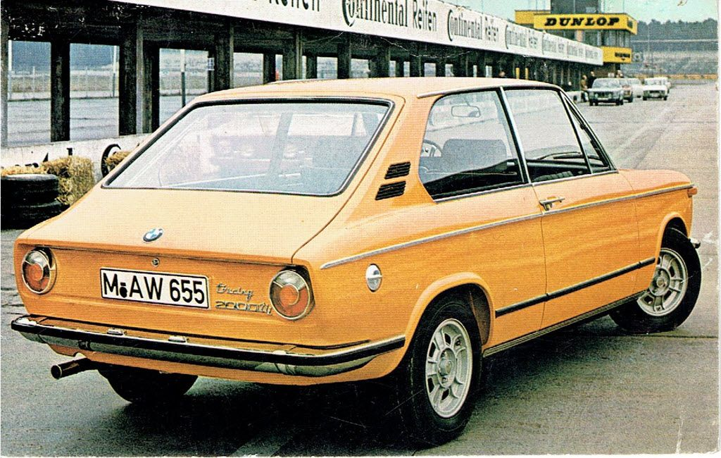 BMW 2000tii Touring promotiekaart Asmoco B.V.