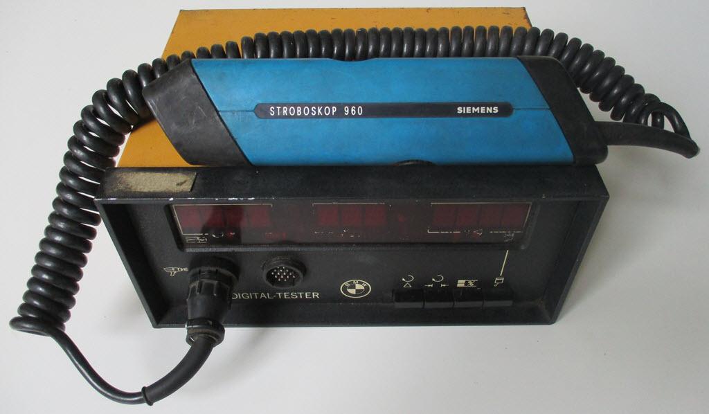 BMW Digital Tester Diagnosegerät 2002 E12 E21 E23 E24 E28