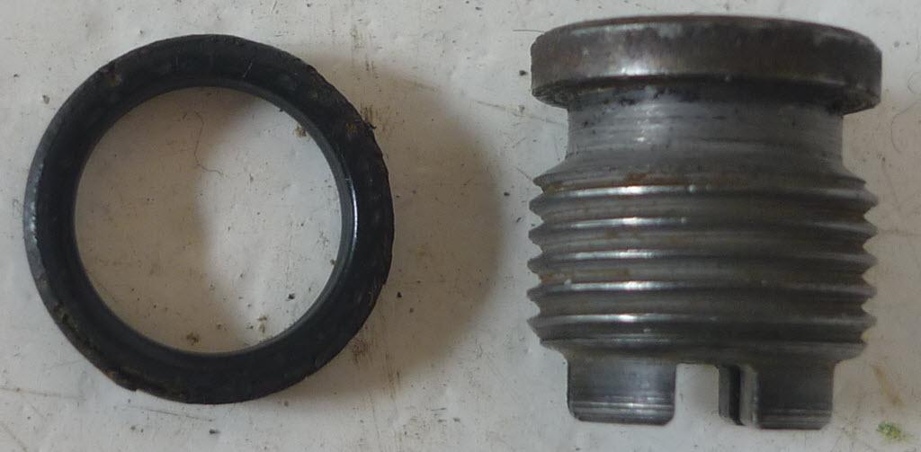 Drukventiel Kugelfischer injectiepomp met o-ring