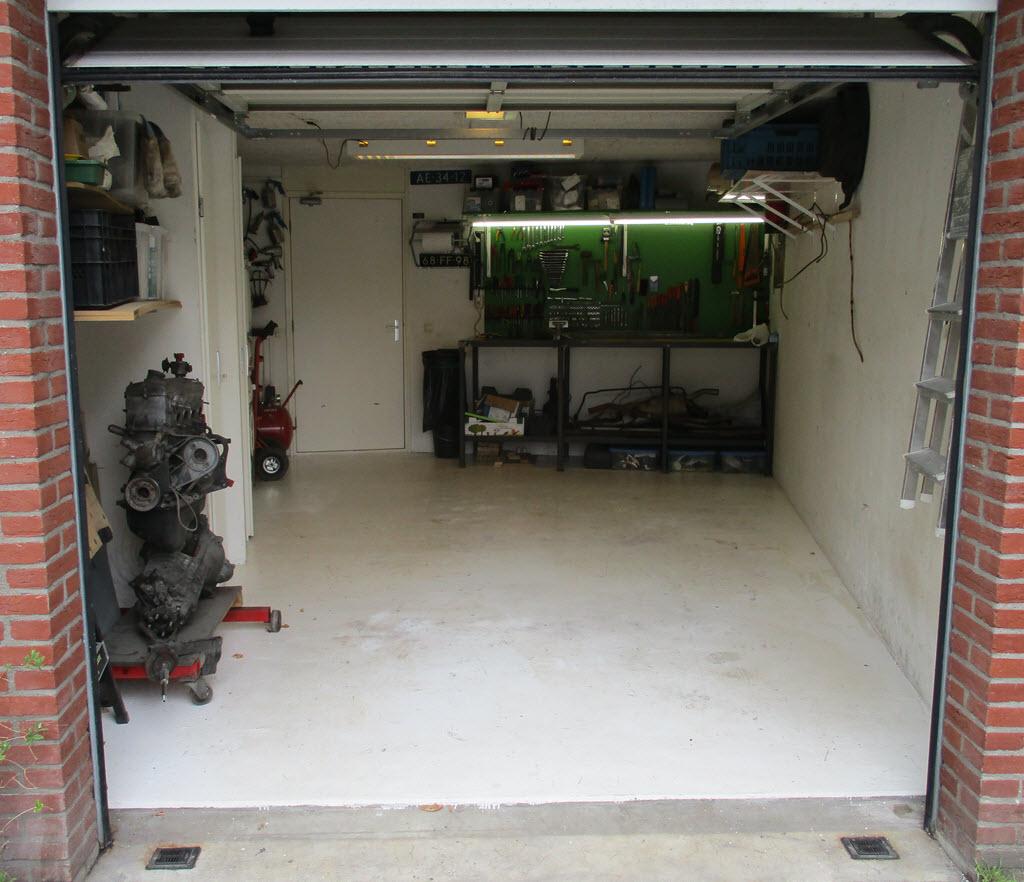 garage schoon en netjes