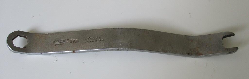 Hazet 2921 sleutel voor trommelremmen BMW 2002