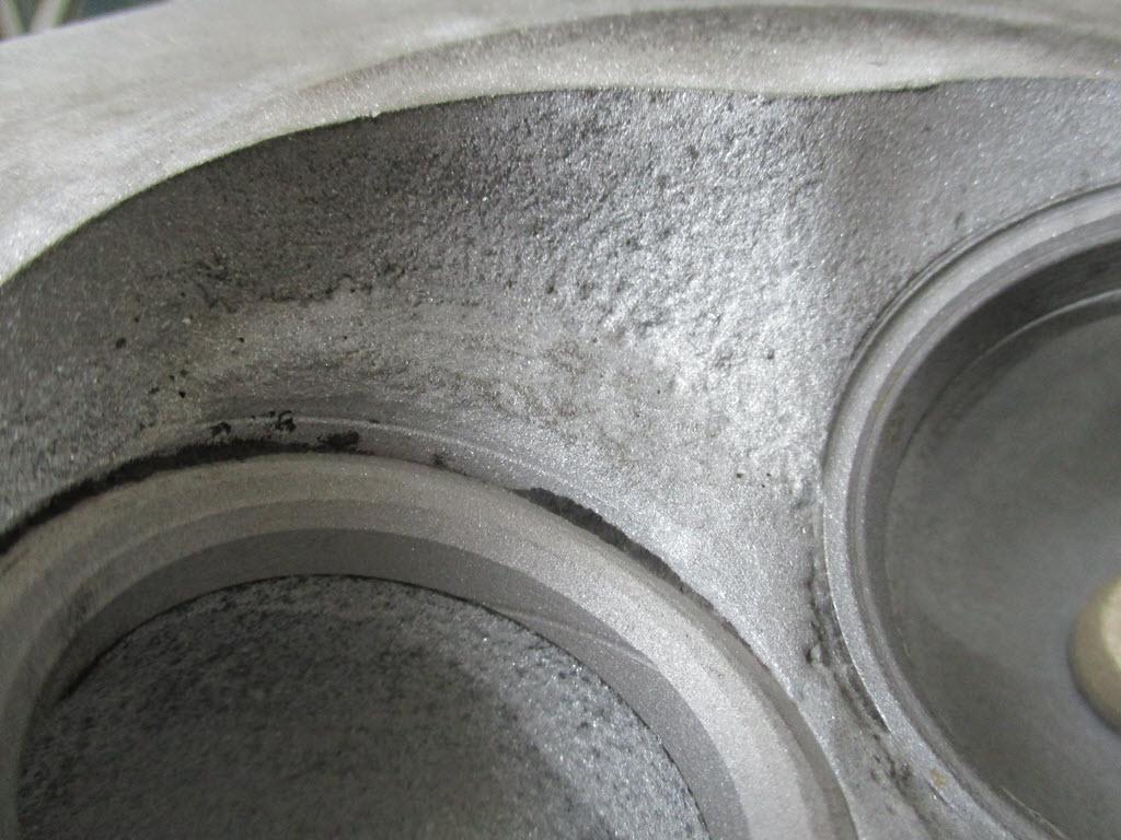 Naad reparatie cilinderkop BMW 2002tii