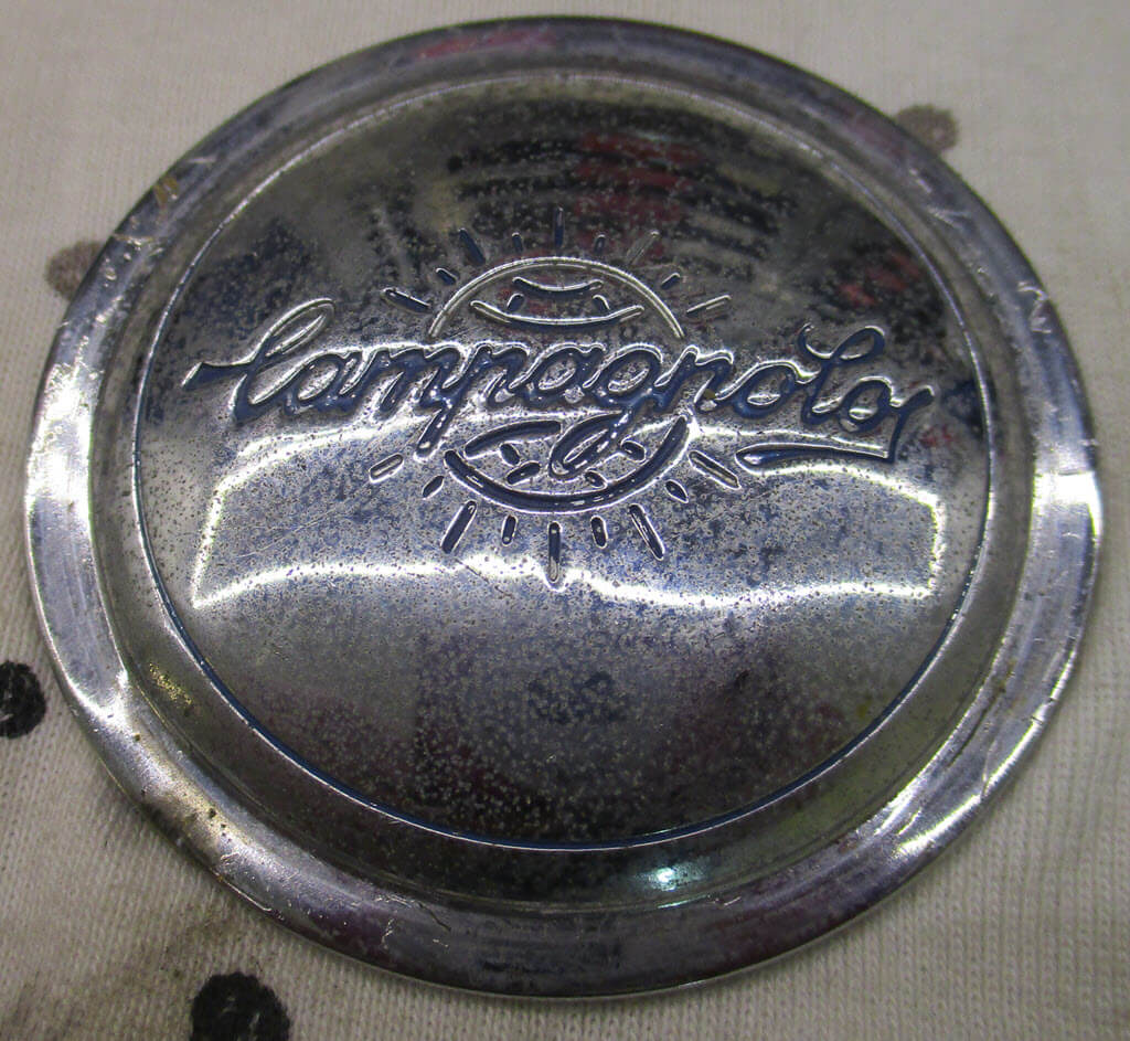 naafkap campagnolo bmw 2002 56mm ongepoetst