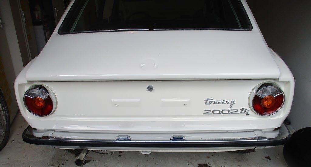 Nieuwe achterlichten BMW 2002 Touring