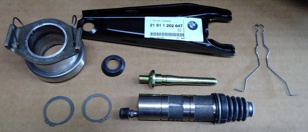 onderdelen koppeling BMW 2002