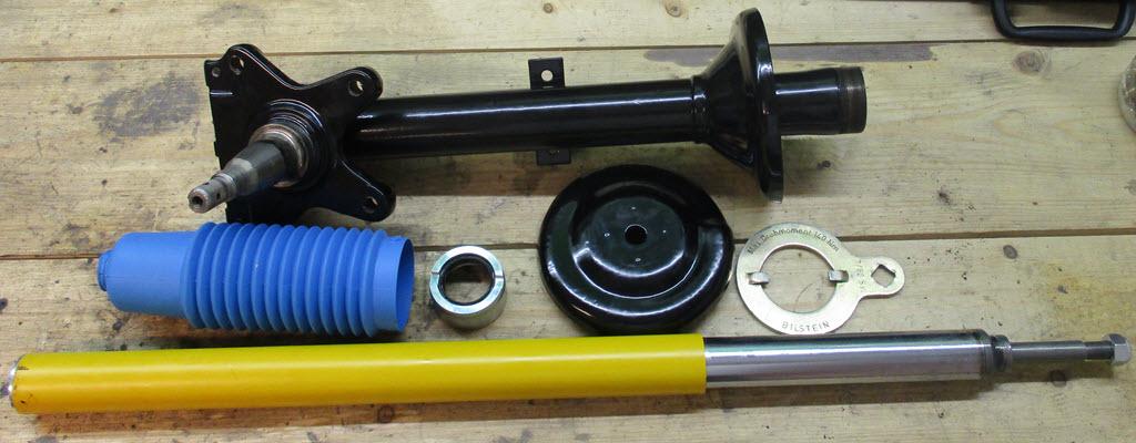 onderdelen veerpoot BMW 2002tii
