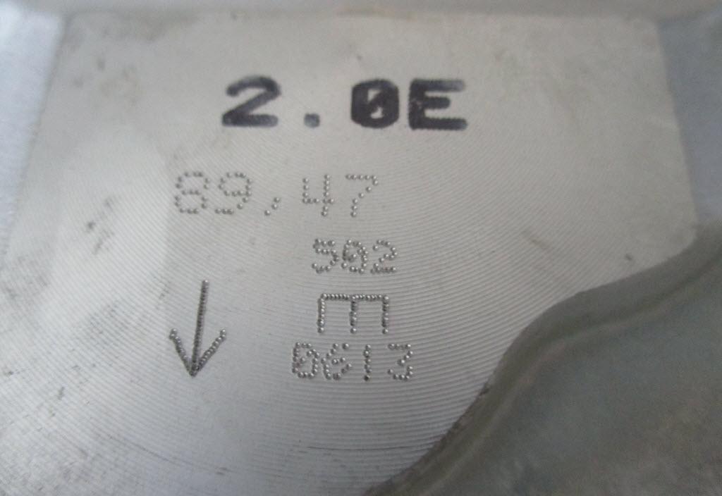 Overmaatse zuigers BMW 2002tii 11251261881 voor E12 kop met maten