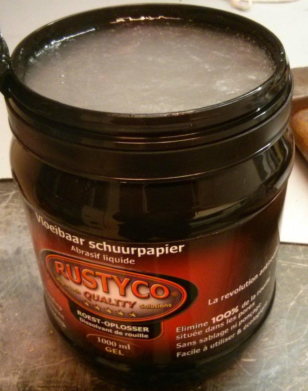 Rustyco gel roestverwijderaar 1 liter